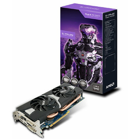 Carte graphique Sapphire Radeon R9 280X Dual X OC - 3 Go