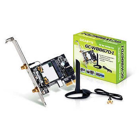 Carte réseau Gigabyte GC-WB867D-I Wifi N, Wifi AC et Bluetooth 4.0 LE
