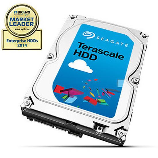 Disque dur interne Seagate Terascale 3.5 HDD - SATA III 6 Gb/s - 4 To