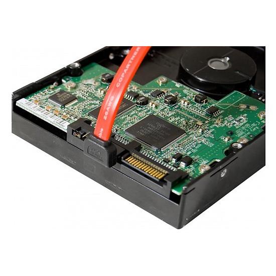 Serial ATA Câble SATA coudé bas + verrouillage - 50 cm - Autre vue