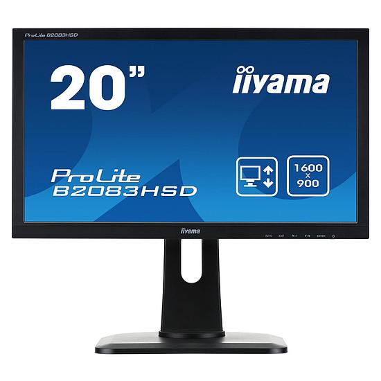 Écran PC Iiyama ProLite B2083HSD-B1