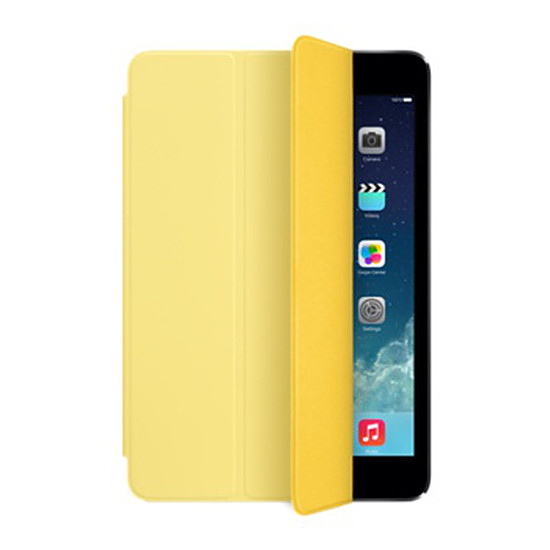 Accessoires tablette tactile Apple iPad mini Smart Cover Jaune