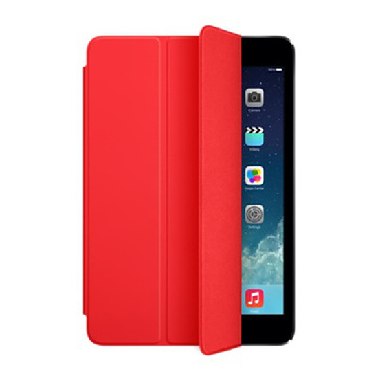 Accessoires tablette tactile Apple iPad mini Smart Cover Rouge