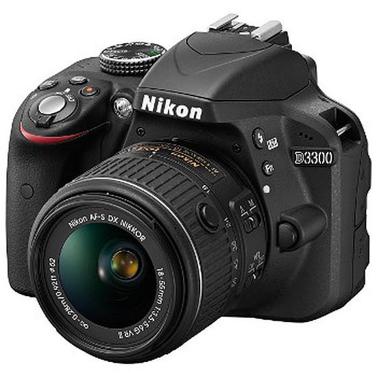 Appareil photo Reflex Nikon D3300 + AF-S DX 18-55mm VR II