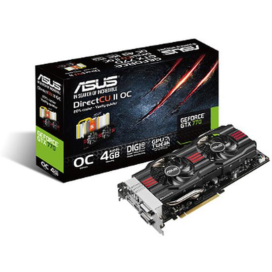 Carte graphique Asus GeForce GTX 770 OC - 4 Go  (GTX770-DC2OC-4GD5)