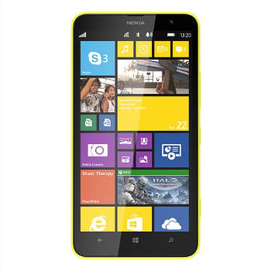 Smartphone et téléphone mobile Nokia Lumia 1320 (jaune)