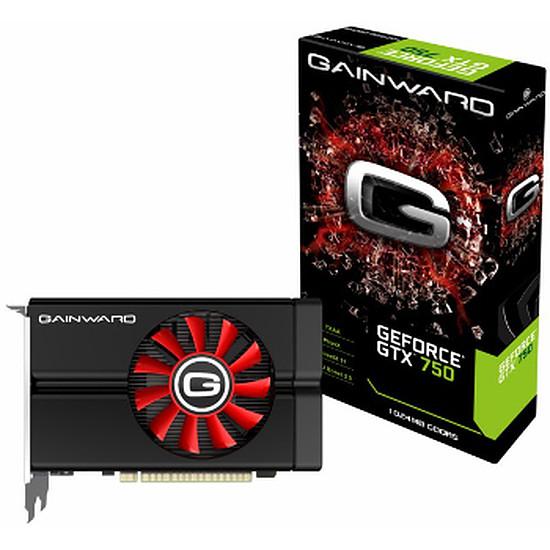 Carte graphique Gainward GeForce GTX 750 - 1 Go