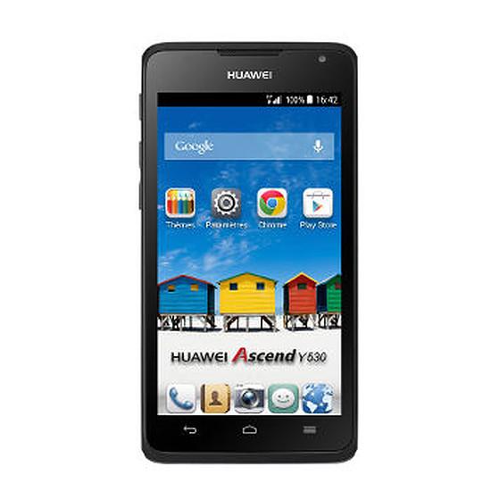 Smartphone et téléphone mobile Huawei Ascend Y530 (noir)