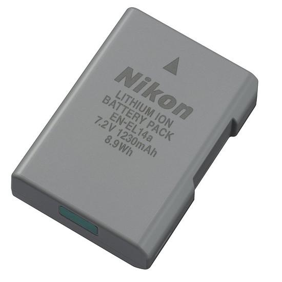 Batterie et chargeur Nikon Batterie EN-EL14a