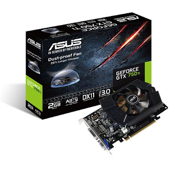 Carte graphique Asus GeForce GTX 750 Ti - 2 Go (GTX750TI-PH-2GD5)