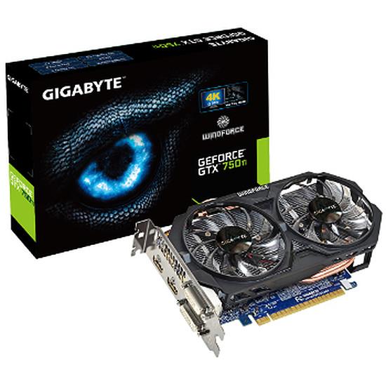 Carte graphique Gigabyte GeForce GTX 750 Ti OC - 2 Go