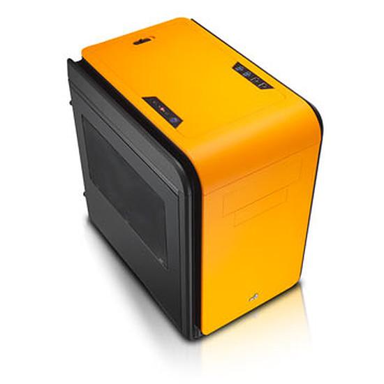Boîtier PC Aerocool DS Cube Noir / Orange - Fenêtre