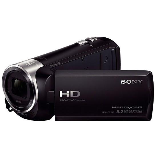Caméscope Sony HDR-CX240E + carte 8Go