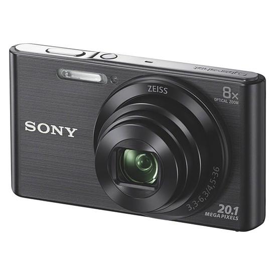 Appareil photo compact ou bridge Sony CyberShot DSC-W830 Noir Pack + Carte SD + Etui - Autre vue