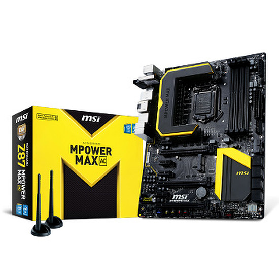 Carte mère MSI Z87 MPOWER MAX AC