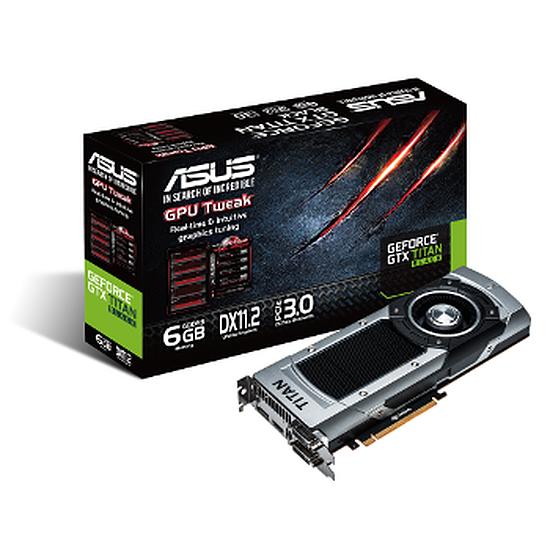 Carte graphique Asus GeForce GTX Titan Black - 6 Go