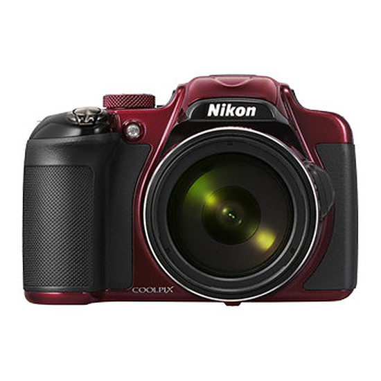 Appareil photo compact ou bridge Nikon Coolpix P600 Rouge