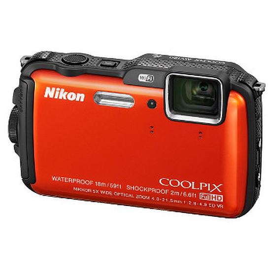Appareil photo compact ou bridge Nikon Coolpix AW120 Orange