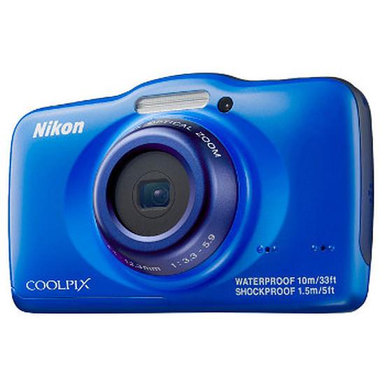 Appareil photo compact ou bridge Nikon Coolpix S32 Bleu