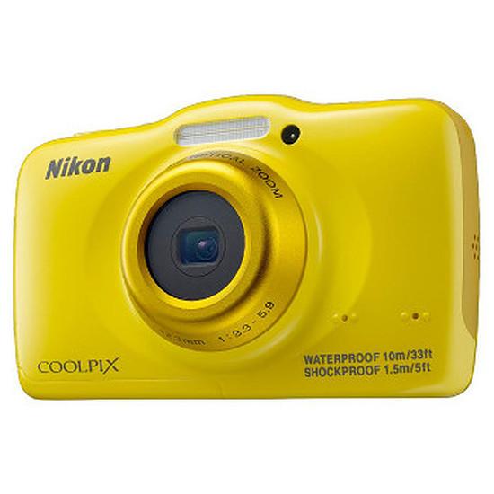 Appareil photo compact ou bridge Nikon Coolpix S32 Jaune