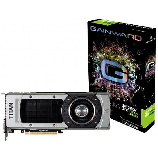 Carte graphique Gainward GeForce GTX Titan Black - 6 Go