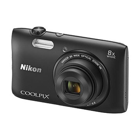 Appareil photo compact ou bridge Nikon Coolpix S3600 Noir
