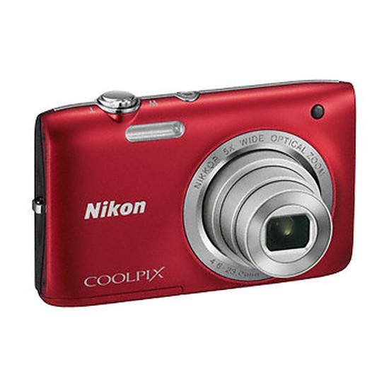 Appareil photo compact ou bridge Nikon Coolpix S2800 Rouge