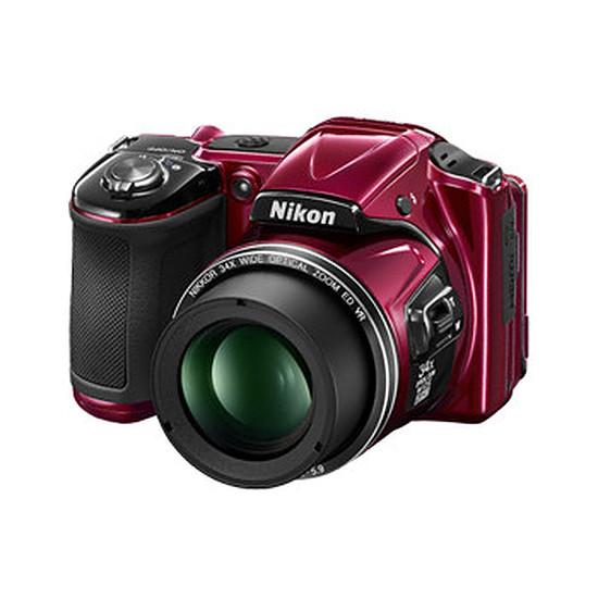 Appareil photo compact ou bridge Nikon Coolpix L830 Rouge