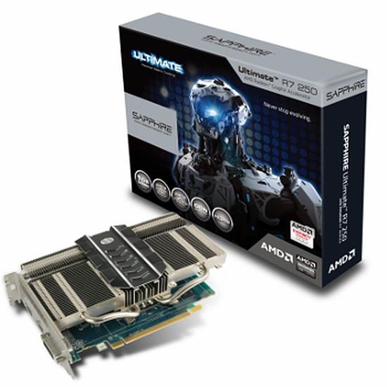 Carte graphique Sapphire Radeon R7 250 Passive - 1 Go (DDR5)