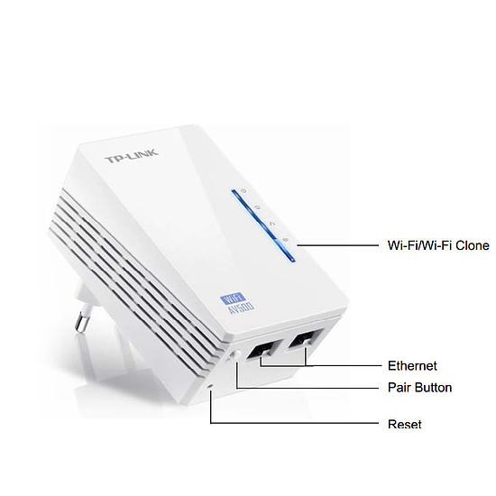 CPL TP-Link TL-WPA4220T KIT - Pack 2 CPL500 + Wifi N300 - - Autre vue