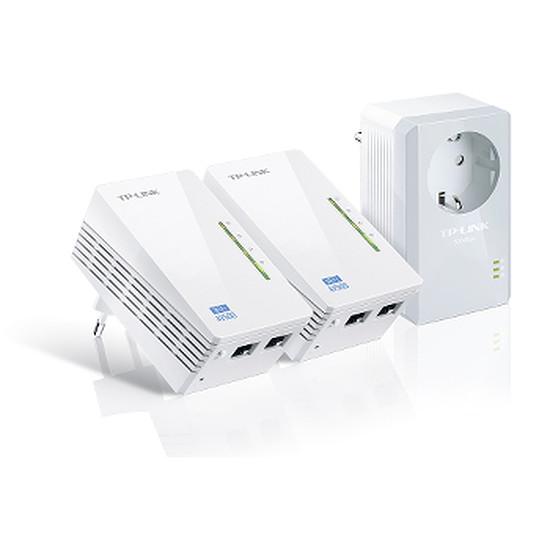 CPL TP-Link TL-WPA4226T KIT - Pack 2 CPL500 + Wifi N300 -