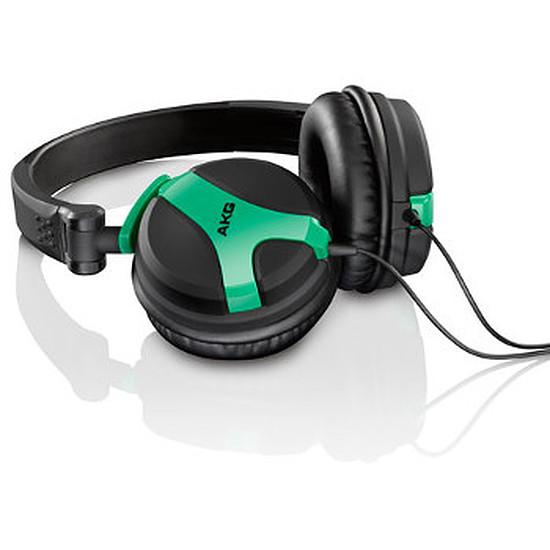Casque Audio AKG K518 DJ Vert Néon