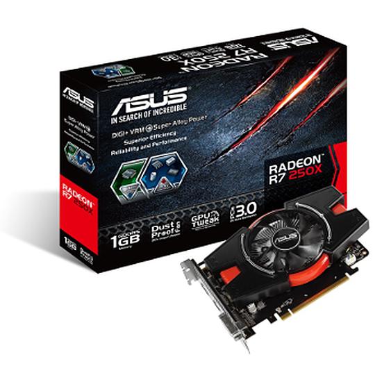 Carte graphique Asus Radeon R7 250X - 1 Go (DDR5)