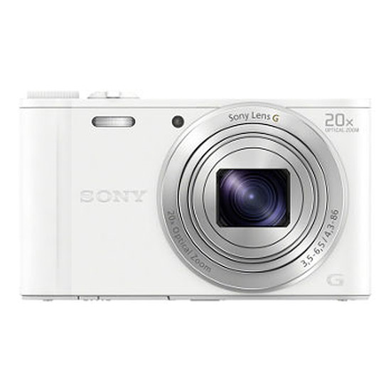 Appareil photo compact ou bridge Sony CyberShot DSC-WX350 Blanc