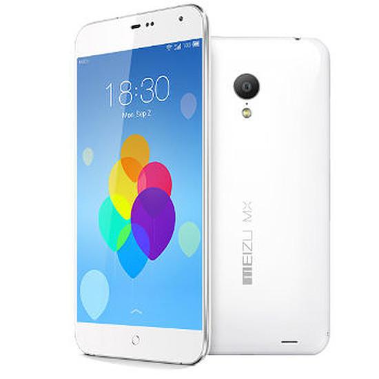 Smartphone et téléphone mobile Meizu MX3 (blanc) - 16 Go