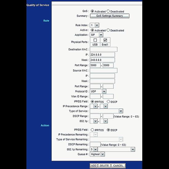 Routeur et modem Zyxel AMG1001 - Autre vue