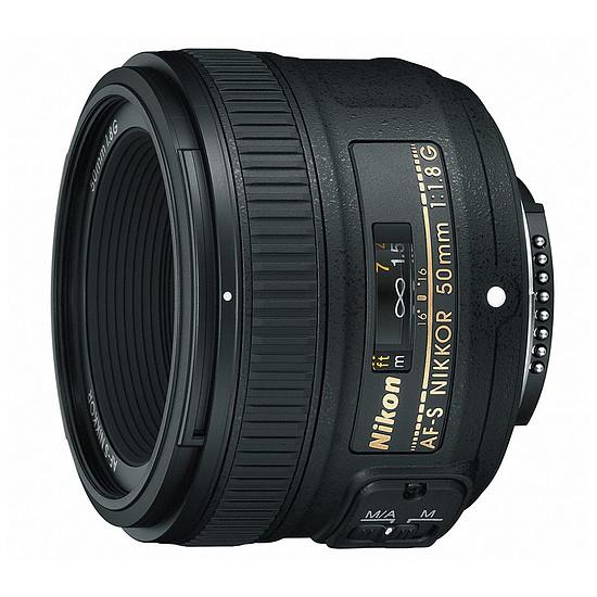 Objectif pour appareil photo Nikon AF-S FX 50mm f/1.8 G