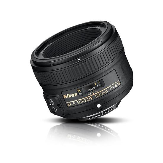 Objectif pour appareil photo Nikon AF-S FX 50mm f/1.8 G - Autre vue