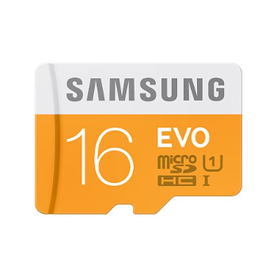 Carte mémoire Samsung Evo Micro SDHC 16 Go (48Mo/s)