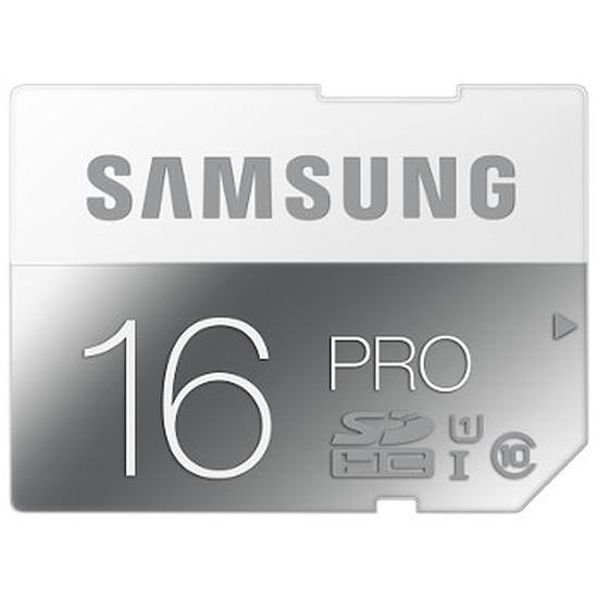 Carte mémoire Samsung SDHC 16Go Pro UHS-1 (Classe 10)
