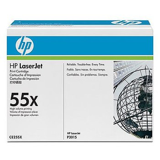 Toner HP 55X - CE255XD Pack Duo