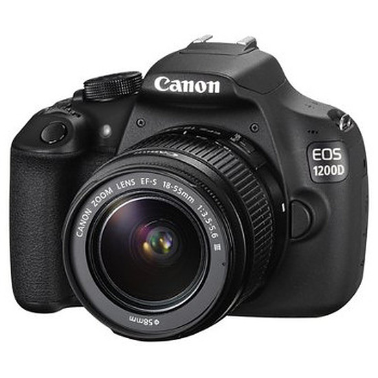 Appareil photo Reflex Canon EOS 1200D + EF-S 18-55 mm IS II