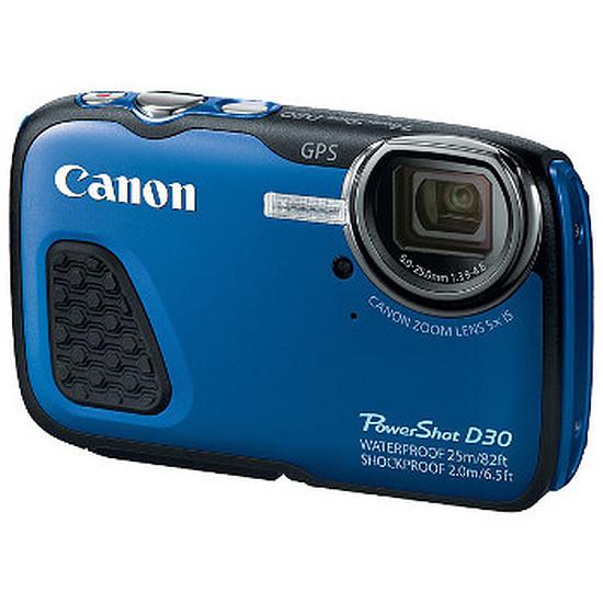 Appareil photo compact ou bridge Canon PowerShot D30 Bleu