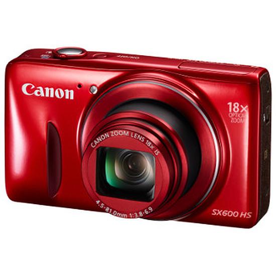 Appareil photo compact ou bridge Canon PowerShot SX600 HS Rouge