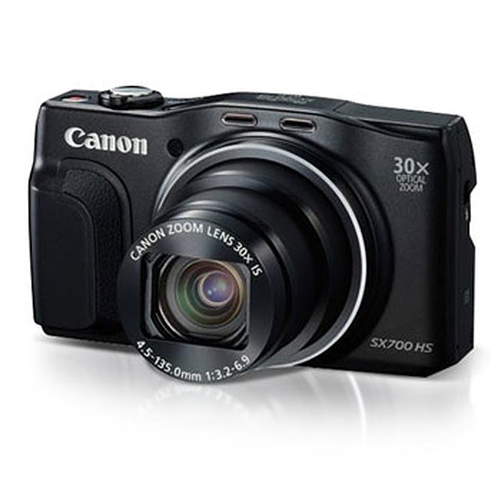 Appareil photo compact ou bridge Canon PowerShot SX700 HS Noir