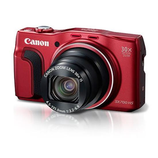 Appareil photo compact ou bridge Canon PowerShot SX700 HS Rouge