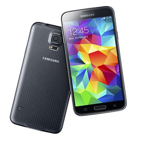 Smartphone et téléphone mobile Samsung Galaxy S5 (noir)