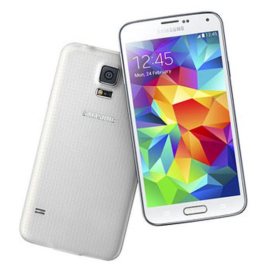 Smartphone et téléphone mobile Samsung Galaxy S5 (blanc)
