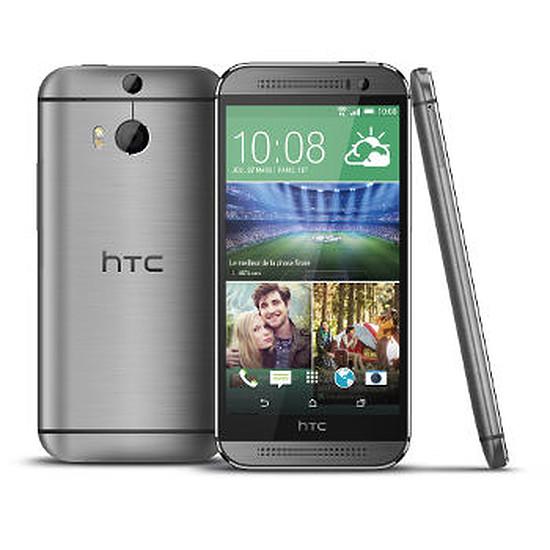 Smartphone et téléphone mobile HTC One M8 (gris acier)