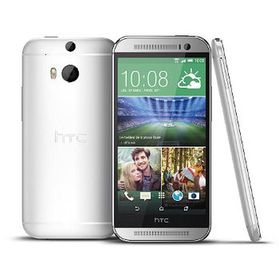 Smartphone et téléphone mobile HTC One M8 (silver)